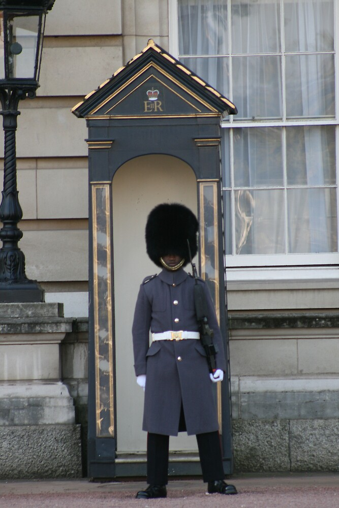 Guard at Buckingham Palace by AnnetteK