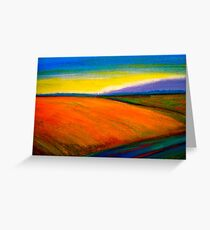 Landscape...Out in the Country Greeting Card