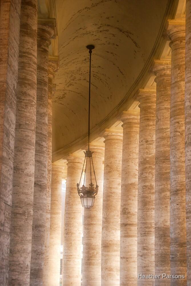 Vatican Column by Heather Parsons