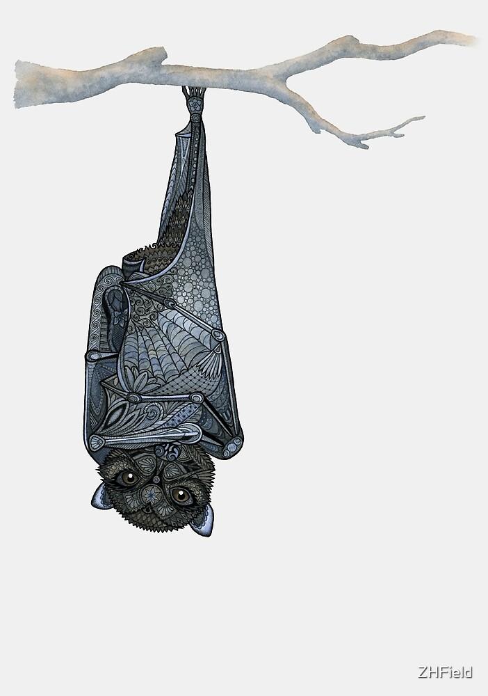 Inquisitive Bat by ZHField