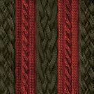 Cable Knit Stripe by ZHField
