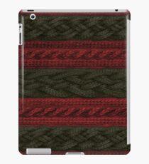 Cable Knit Stripe iPad Case/Skin