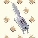 Toaster the Cat by Tim Gorichanaz