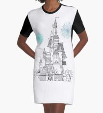 Happily Ever After  Graphic T-Shirt Dress