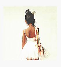 African American Ballerina Photographic Print