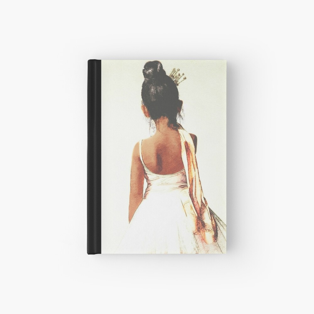 Afroamerikaner-Ballerina Notizbuch
