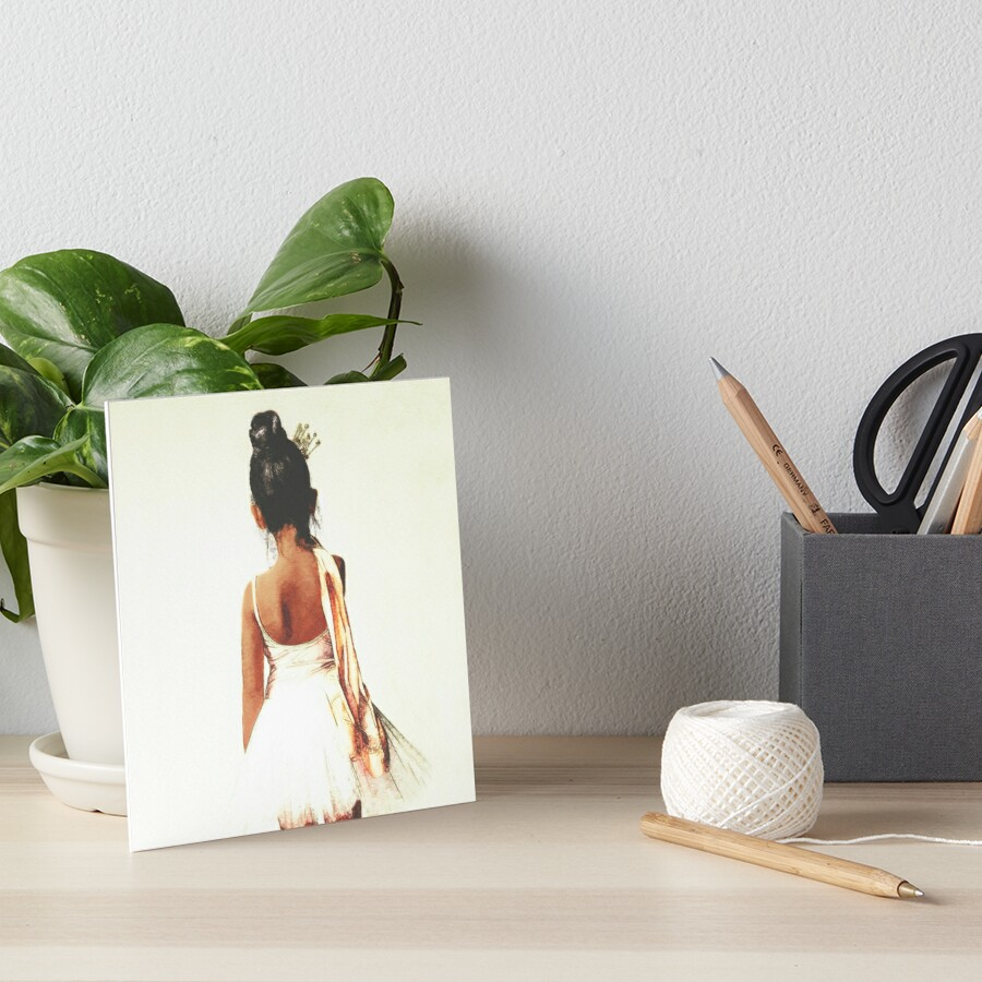 Afroamerikaner-Ballerina Galeriedruck