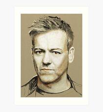 Rupert Graves Portrait Art Print