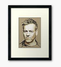 Rupert Graves Portrait Framed Print
