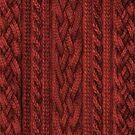 Cardinal Red Cable Knit by ZHField