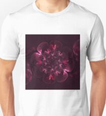 Flower In Bordo Unisex T-Shirt