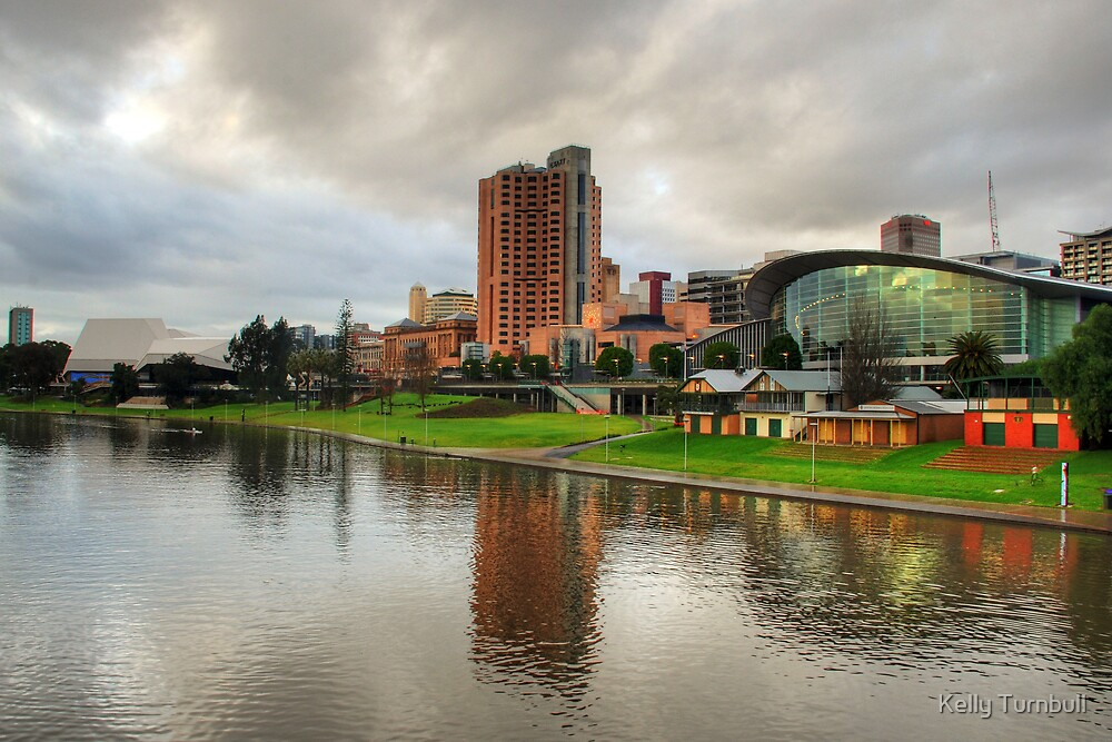 Adelaide from River Torrens by Kelly Turnbull