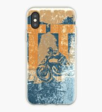 TT Vintage motorcycle races iPhone Case