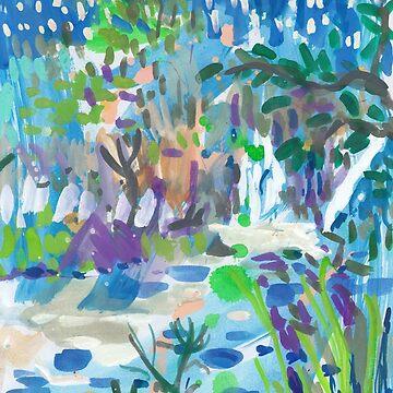 Blue Falls by JohnDouglas