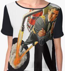 James Bond 007 Women's Chiffon Top