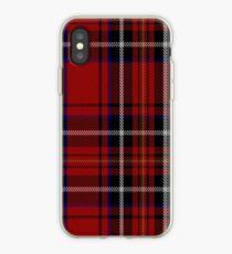 00418 Cornish Brewery Red Tartan  iPhone Case