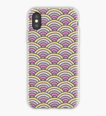 Japanese Abstract Pattern Design iPhone Case