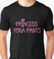 Princess Yoga Pants Unisex T-Shirt