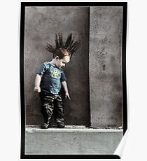 Punx not dead ... he just hasn't grown up yet.. Poster