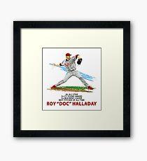 Doc Halladay Framed Print
