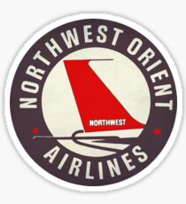 Pegatina Vintage Northwest Airlines