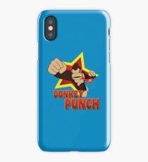 Donkey Punch - SSB4 iPhone Case/Skin