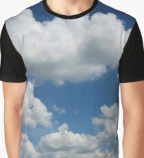 Hill with Cumulus Graphic T-Shirt