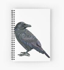 Celtic Raven Spiral Notebook