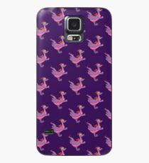Happy Running Figment Hülle & Klebefolie für Samsung Galaxy
