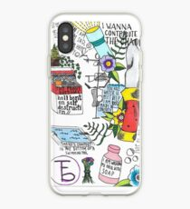 The Front Bottoms Flash Lyrics iPhone Case