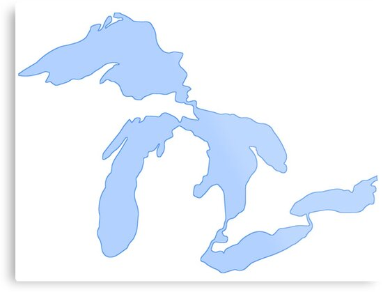 The Great Lakes by TheHotdish