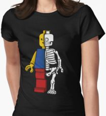 """Lego anatomy"" Women's Fitted T-Shirt"