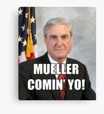 Mueller Comin' Canvas Print
