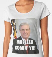 Mueller Comin' Women's Premium T-Shirt