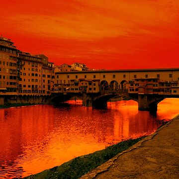 FLORENCE SUNSET by tomb42