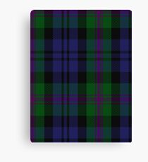 00382 Modern Baird Clan/Family Tartan  Canvas Print