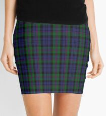 00382 Modern Baird Clan/Family Tartan  Mini Skirt