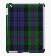 00382 Modern Baird Clan/Family Tartan  iPad Case/Skin