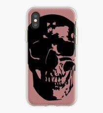 Mauve Skull iPhone Case