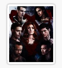 Shadowhunters - Poster #1 (2nd version) Sticker