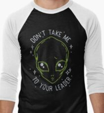 The Flash (Cisco's shirt) - Don't Take Me To Your Leader T-Shirt