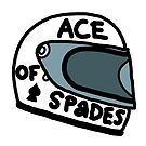 Ace of Spades helmet by Andre Gascoigne