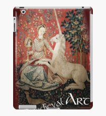 Medieval Art - Lady and the Unicorn  iPad Case/Skin