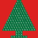 Oh Chemistree - Periodic Table Christmas Tree by sciencenotes