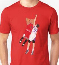 Derrick Rose Dunk On Goran Dragic T-Shirt