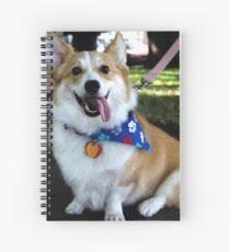 Corgi Pup Spiral Notebook