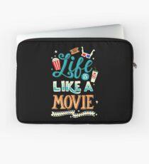 Life Is Like A Movie Laptop Sleeve
