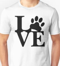 LOVE DOG PAW Unisex T-Shirt