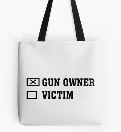 Gun Owner or Victim Tote Bag