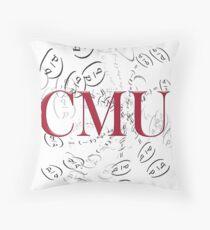 CMU Mathy Classic Throw Pillow